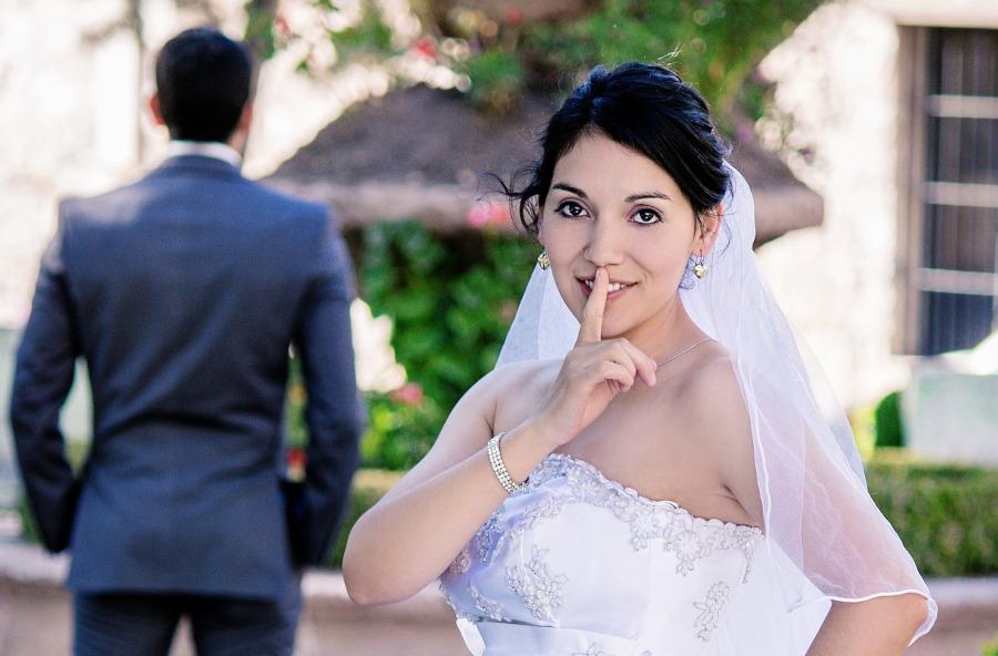 magie pour les mariés