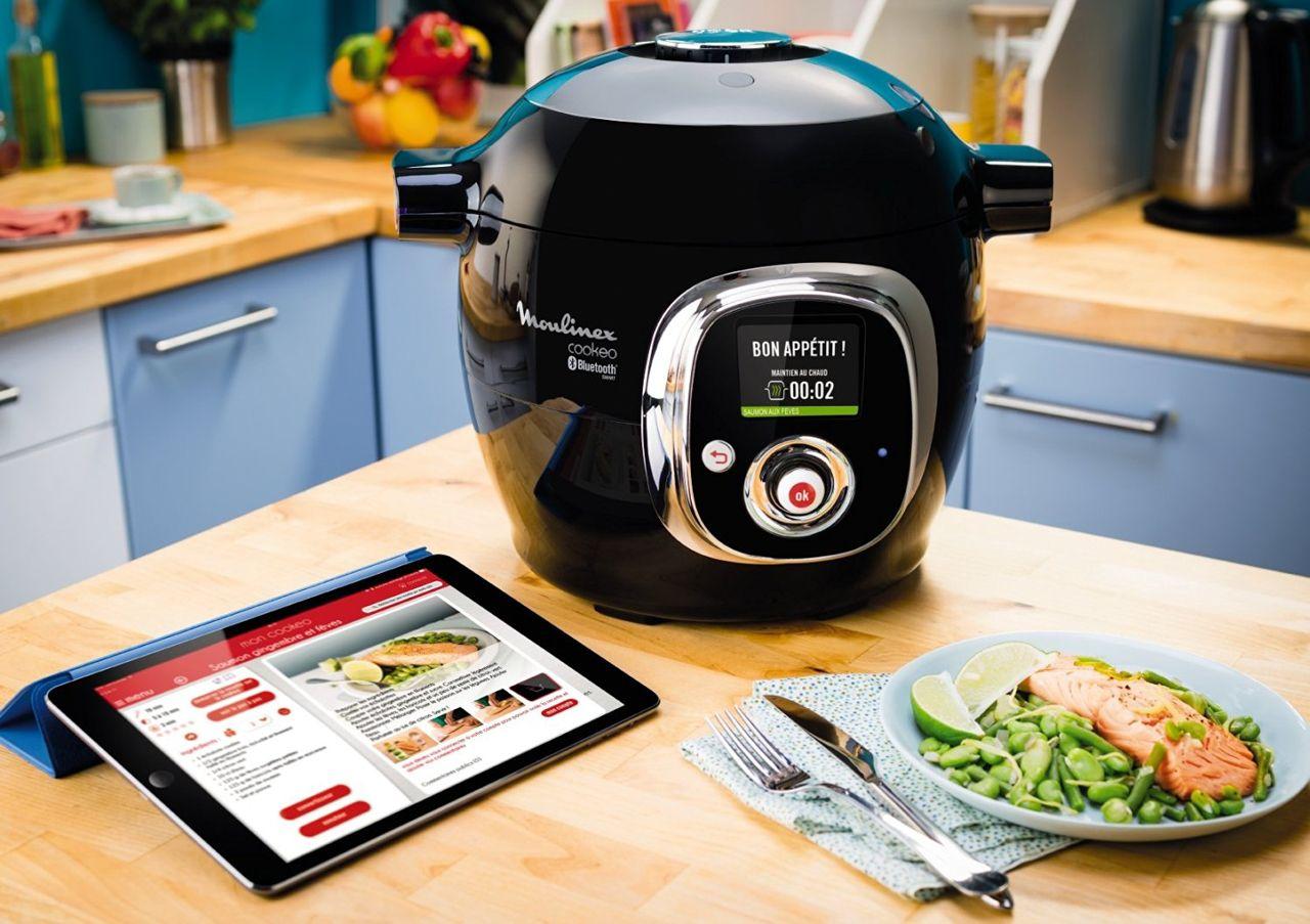robots cuiseurs moulinex cookeo