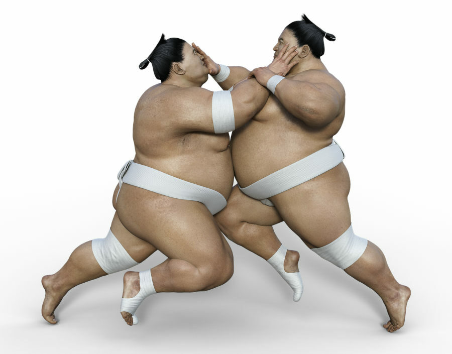 Se transformer en combattant de sumo